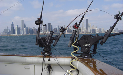 Chicago Fishing Charters Gear